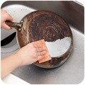 Япония 20 шт наждачная бумага Алмазный лист 7*9 см влажное сухое использование кухонная Чистка Волшебная Чистящая губка меламиновая губка