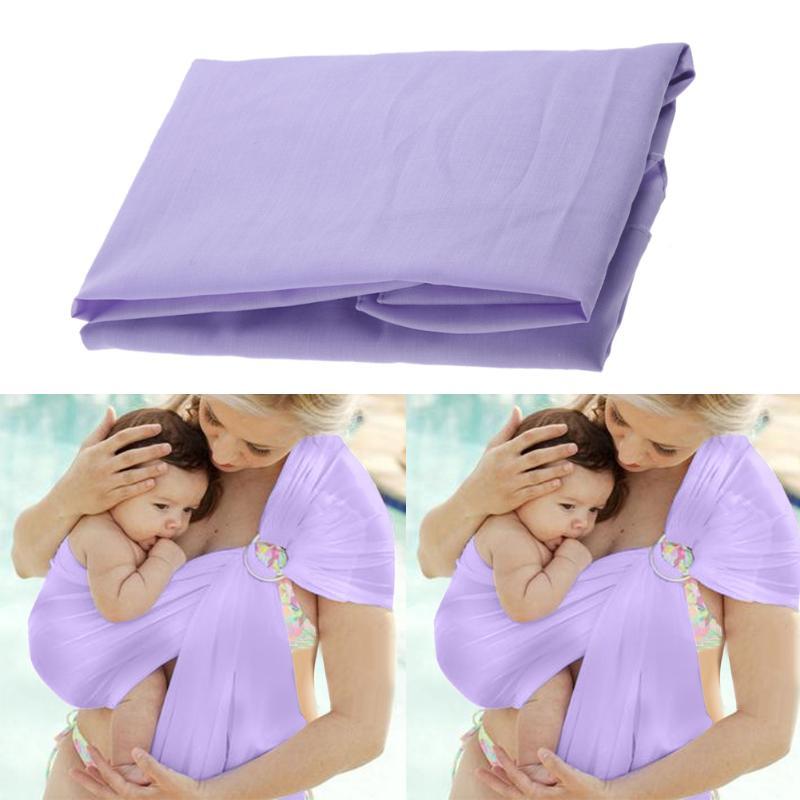 Housse de protection pour bébé en coton | Enveloppement naturel doux, à la mode, porte-bébé de 0-2 ans, respirant, pour mère