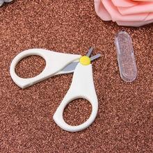 Newborn Kids Baby Safety Manicure Nail Cutter Clippers Scissors Convenient New H05C
