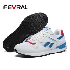 Image 3 - FEVRAL ใหม่ขนาดใหญ่รองเท้าผู้ชายรองเท้าผ้าใบ Breathable รองเท้าตาข่ายรองเท้ากลางแจ้งคู่เดินสบายๆรองเท้าผู้ชายกีฬารองเท้า