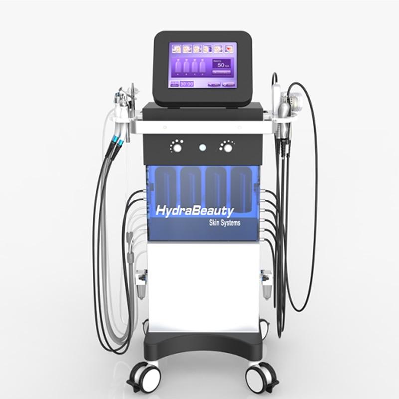 10 In 1Multi-Function Hydra Beauty Equipment Hydra Facial Oxygen Microdermabrasion PDT Skin Rejuvenation Exfoliators SPA Machine