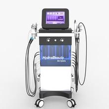 10 в 1Multi-функции Гидры оборудования красотки лицевая кислородная микродермабразия кожи PDT Подмолаживание очищающие СПА-машина
