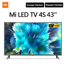 Xiaomi Mi Led Tv 4S 43 Inches Smart 4K Full Hd Televisie 2G + 8G Opslag wifi Intelligente Android Tv Netflix Google Assistent(China)