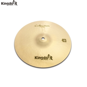 Kingdo B20 Collection JAZZ series 10 splash cymbal for drum set cymbal set kingdo b20 collection jazz series 10 splash cymbal for drum set cymbal set