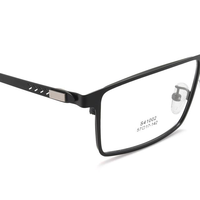 Фото очки в оправе из сплава мужские очки с полным ободком деловом цена