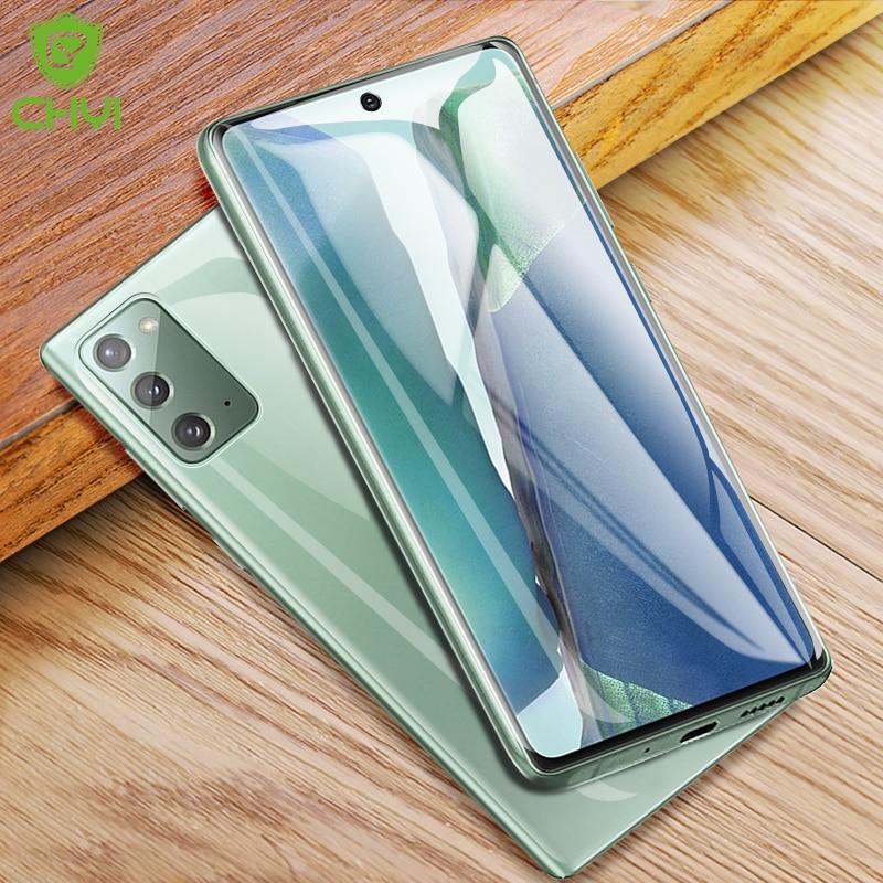 Idrogel Pellicola Per Samsung Galaxy Note 20 5G Protezione Dello Schermo CHYI 3D Curvo Pellicola protettiva per Note20 Ultra Non di vetro