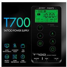 Najnowszy ekran dotykowy T700 zasilacz do tatuażu inteligentny cyfrowy podwójny zasilacz LED do tatuażu tanie tanio ITATFY Tatuaż zasilanie ITAP009 100-240 V 19V 2 5A