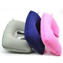 Travel-Pillow Airplane Inflatable U-Shape Comfortable Neck 11-Colors 1pcs