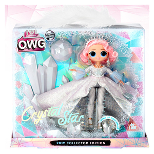 Hot LOLs Surprise Doll OMG Crystal Star Winter Disco Crystal Star Collectible Edition Fashion Doll Girl Toy Gift Birthday Gift(China)