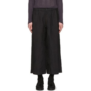 Men's casual pants linen straight tube wide leg pants youth fashion new fashion male urban youth