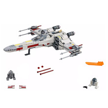 New Toys X-wing Star Fighterly Compatible Legoingl Staring Wars 75218 Building Blocks Figure Bricks for Children Christmas Gift цена