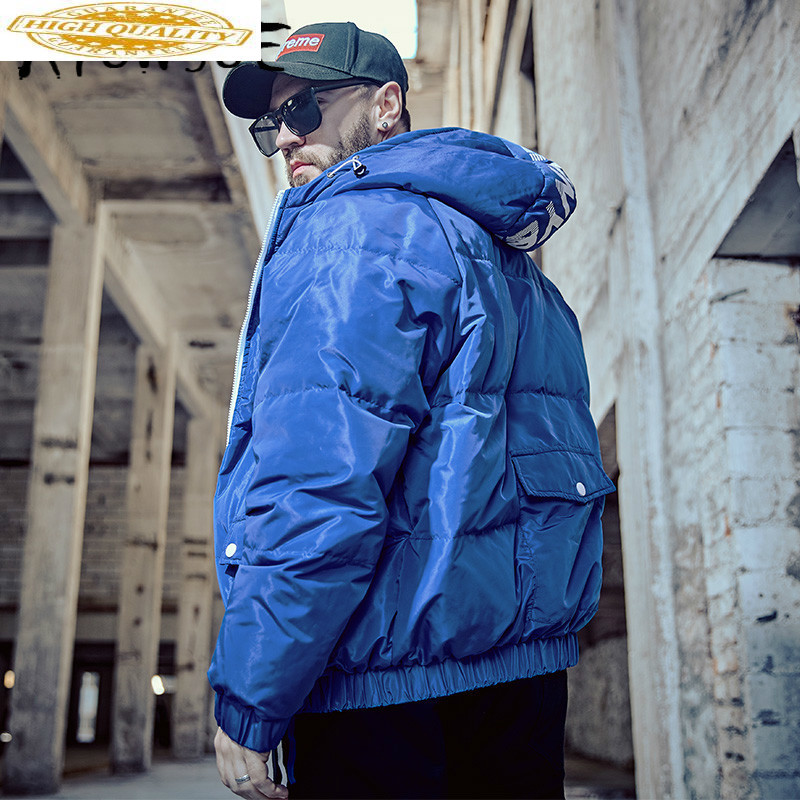 90% White Duck Down Jacket Winter Coat Men Korean Plus Size Puffer Jacket Men Warm Parka Moda Masculina Y8010 YY1348