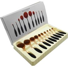 10 шт/компл Красота зубная щетка кисти для макияжа комплект