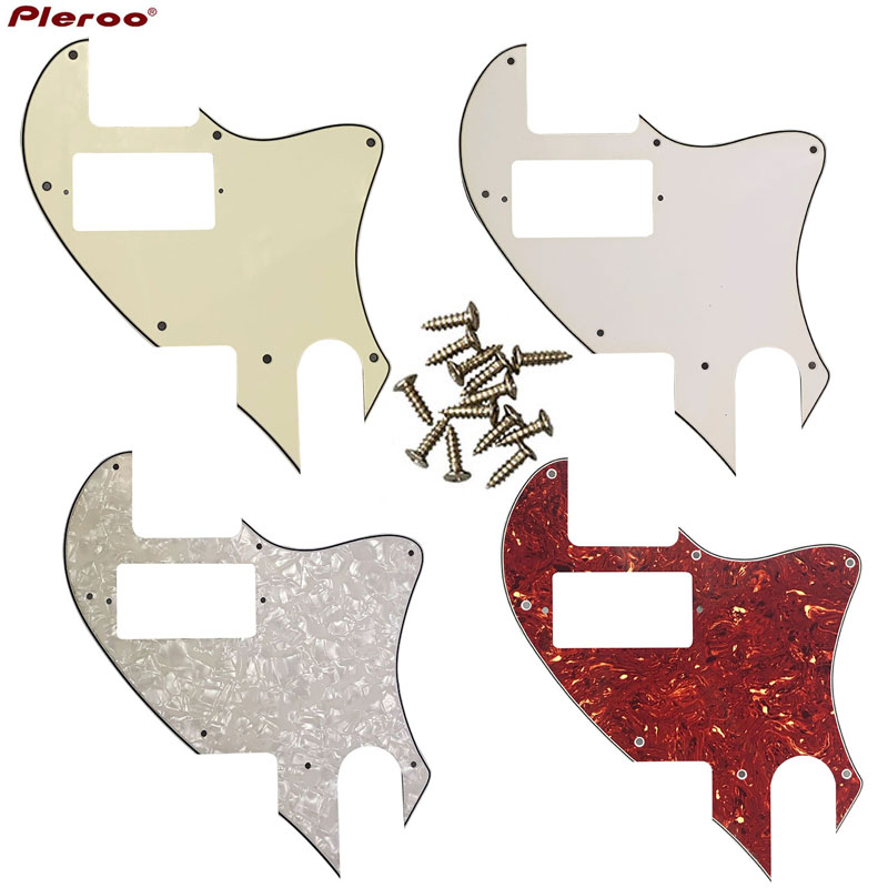 Pleroo Guitar Parts - For US Telecaster Tele PAF Humbucker Pickups Guitar Pickguard Scratch Plate Tele Conversion With 7 Screws