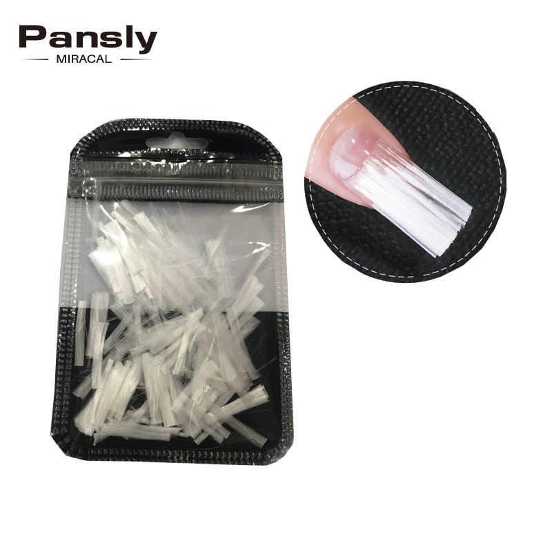 Pansly グラスファイバーアクリルフォームビルダーシルクラップ延長プロテクターマニキュアのためのサロン