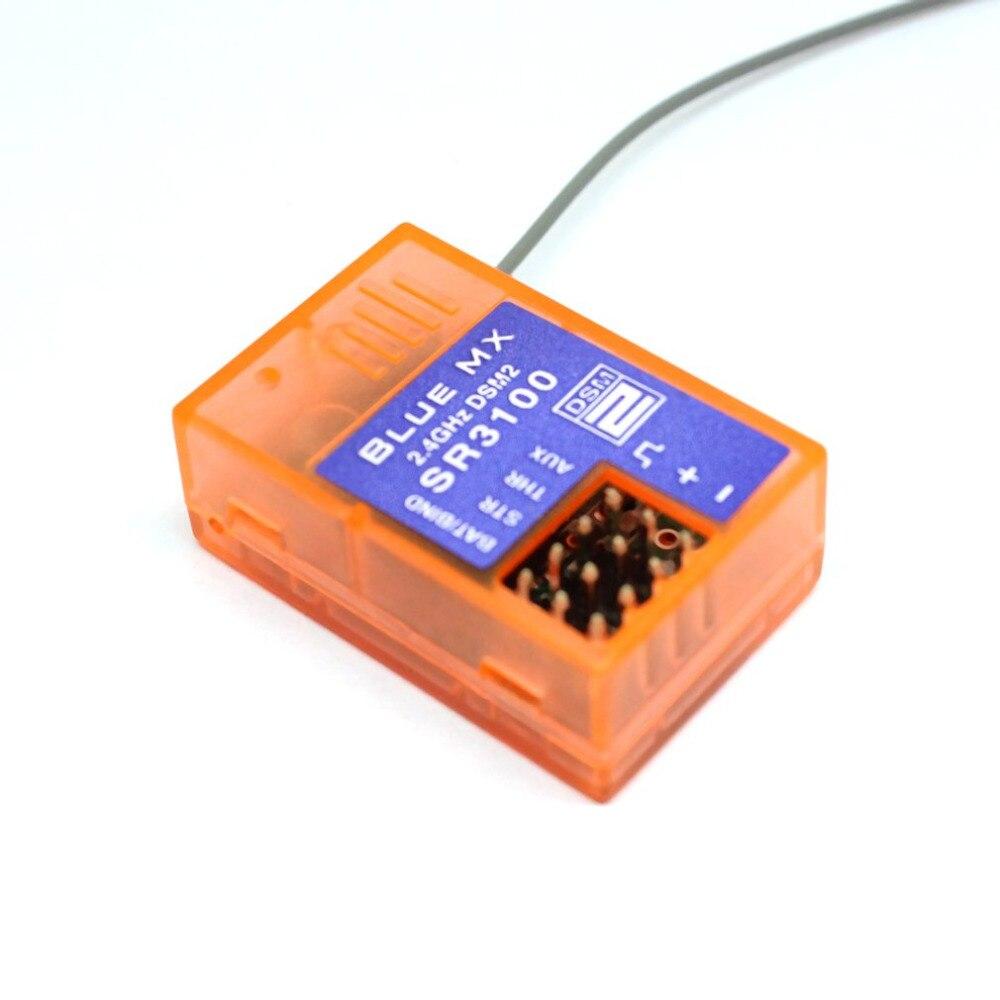 SR3100 coche camión receptor transmisor 2,4G Banda 3 canales superficie Rx receptor de repuesto para DX3R DX3E DX2S DX4C nuevo
