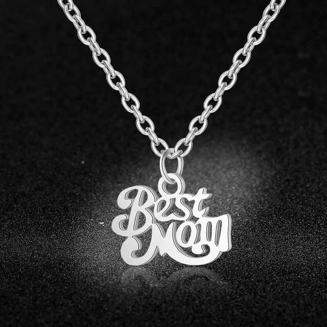 Stainless Steel Best Mom...