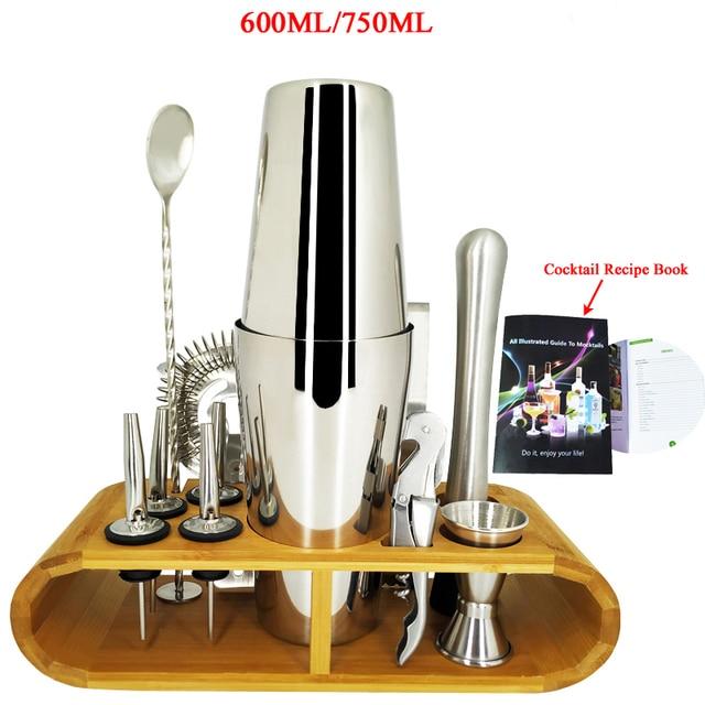 Stainless Steel Bar Cocktail Shaker Set  33