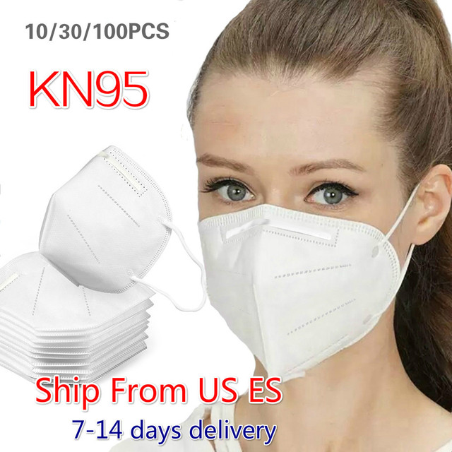 10-100Pcs Dustproof Anti-fog And Breathable Face Masks 95% Filtration Mouth Masks 3-Layer Mouth Muffle Cover Fast Shipping
