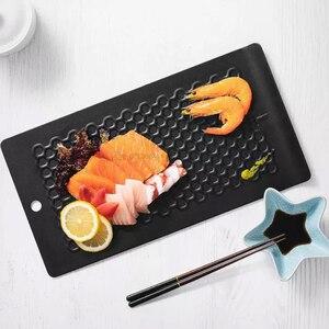 Image 3 - Huohou מהיר הפשרה מגש הפשרה קפוא מזון בשר פירות מהיר הפשרה צלחת לוח להפשיר מטבח גאדג ט כלי