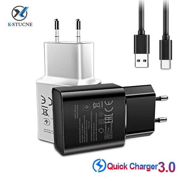 USB C do Samsung S8 S9 plus oryginalna szybka ładowarka 1.2 m USB typ C Kabel Travel Adapter ue/usa Note8 S9 S8 C5 c7 C9 pro urządzenia
