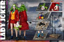 Wolfking масштаб 1:6 Женская экшн фигурка клоуна Джокера Коллекционная