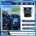 2 Din Android Auto Auto Stereo Tesla Radio Für Honda Acura TL 2006-2018 Radio Multimedia DVD Player GPS navigation Kopf Einheit