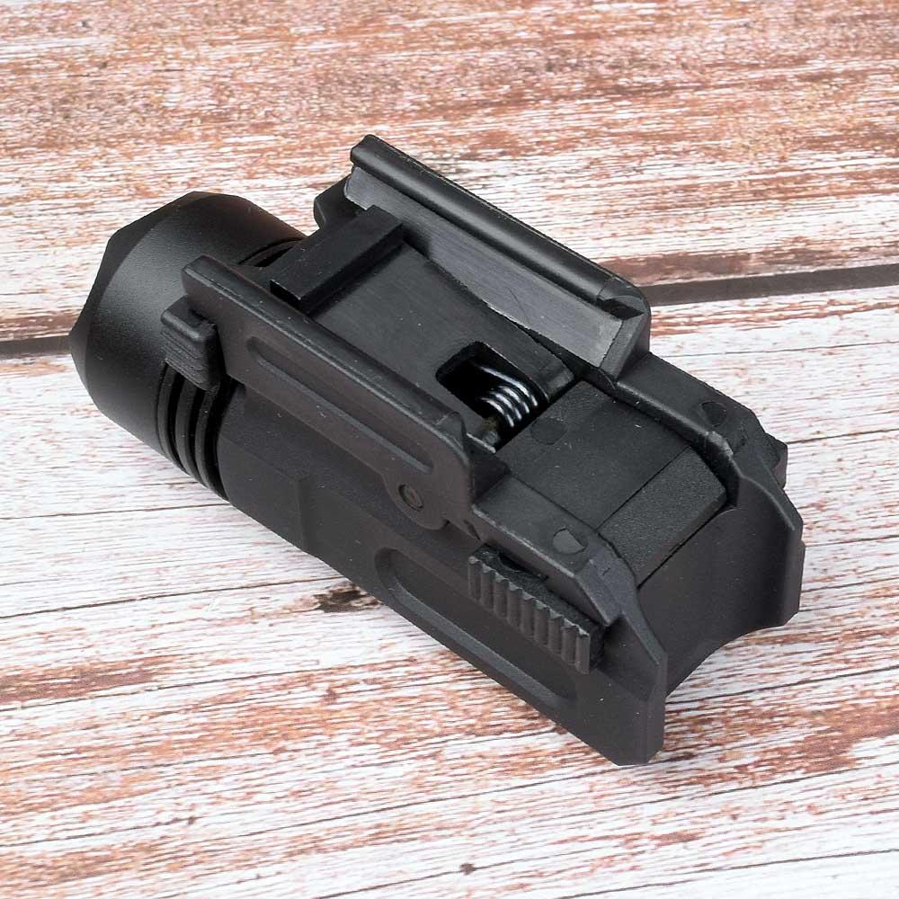 Red Dot Laser Sight Tactical Picatinny Weaver Rail Mount 20mm Pistol Gun Compact  Torch Light LED Rifle Glock Gun Flash Light-4