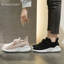 Summer Women Sneakers Running Sport Shoes Women White Fashion Breathable Tennis Flat Casual Shoes 2020 fashion woman casual running flat shoes breathable sneakers sport women new arrivals fashion mesh sneakers flat shoes women