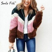 Warm Winter Autumn Jacket Women Fleece Jumper Zip-up Soft Th