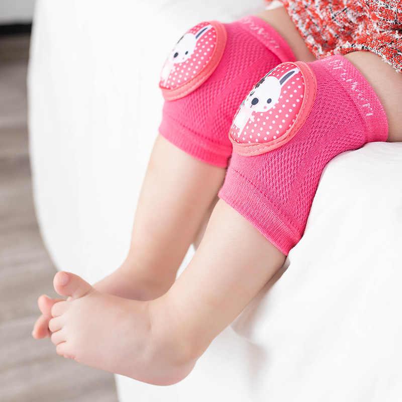 2020 เด็กเข่า Pads ทารกเด็กวัยหัดเดิน Kneepads Protector เด็กขาอุ่นตาข่าย Breathable ความปลอดภัยรวบรวมข้อมูล Elbow Cushion Pad