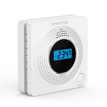CO Gas Sensor Detector Carbon Monoxide Alarm Detector Warning Poisoned Gas LCD Display