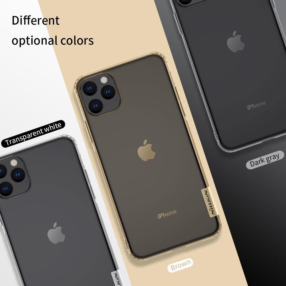 για iPhone 11 11 Pro Max X XS XR Θήκη Nillkin Clear Soft - Ανταλλακτικά και αξεσουάρ κινητών τηλεφώνων - Φωτογραφία 5