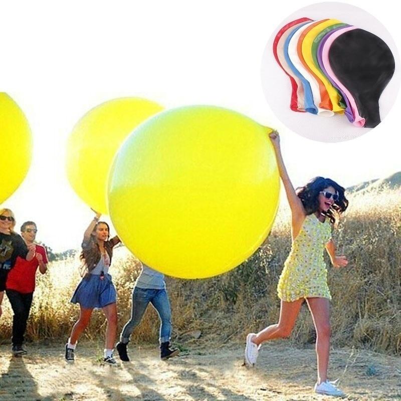 1pc 36inch (90cm) Half Body Large Latex Balloon Party Game Birthday Wedding Children Party Toy Hat Festival Balloon Balloon