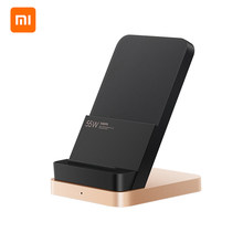 NEW Xiaomi 55W Wireless Charger Vertical Quick Charger Air-cooled Wireless Charging Support Fast Charger For Xiaomi 10 Pro(China)