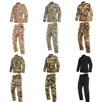 9Color Men Army Military Uniform Tactical Special Forces Combat Camouflage Us Militar Soldier Clothes Pant Set for Mans Uniforms - DISCOUNT ITEM  39% OFF All Category