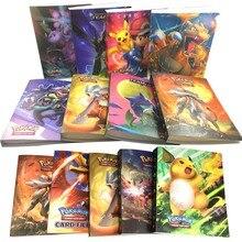 240Pcs Holder Pokemons binder Album Toys Collections Pokemones Cards Album Book Top Loaded List Toys Gift for Children