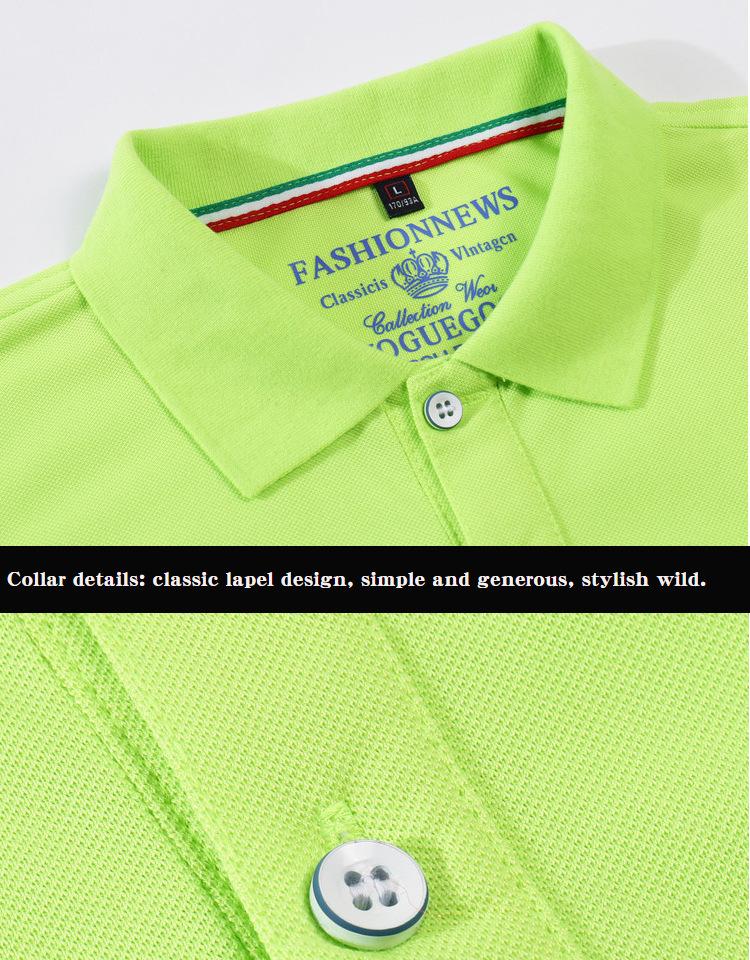 LiSENBAO Brand New arrival  Men Polo Shirt High Quality men polo shirt men short sleeve jerseys Summer Mens polo Shirts LS-1806 12