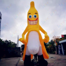 Custom 3M / 9.8ft giant inflatable banana cartoon character for advertising holiday party club bar inflatable toys free delivery 13feet giant inflatable chicken hot sale nylon oxford blow up chicken model for advertising toys