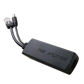 4 sztuk aktywny PoE Splitter Power over Ethernet wtryskiwacz 48V do 12V 1A-2A IEEE802 3Af At 10 100M tanie i dobre opinie Veggieg NONE CN (pochodzenie) as show W połączeniu Typu