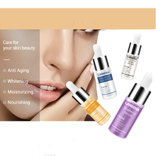 LANBENA Serum Hyaluronic Acid Vitamin C 24K Gold Six Peptides Anti-Aging Spots Whitening Moisturizing Skin Care