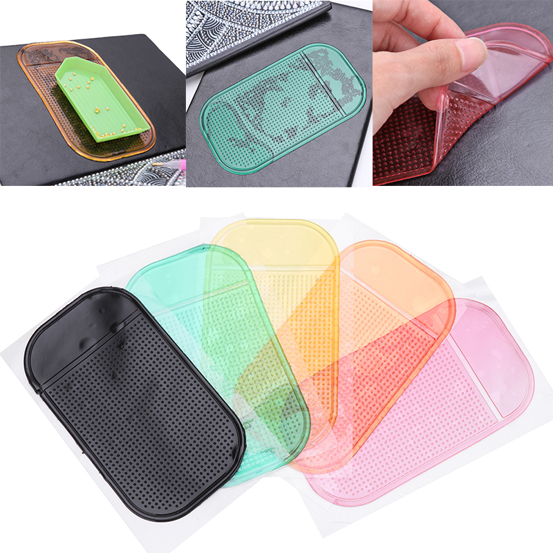 Fixed DIY Holder Pad Sticker Tray Silicone Point Anti-slip Tools Embroidery 5D Diamond Painting Mat For Drill Decoration