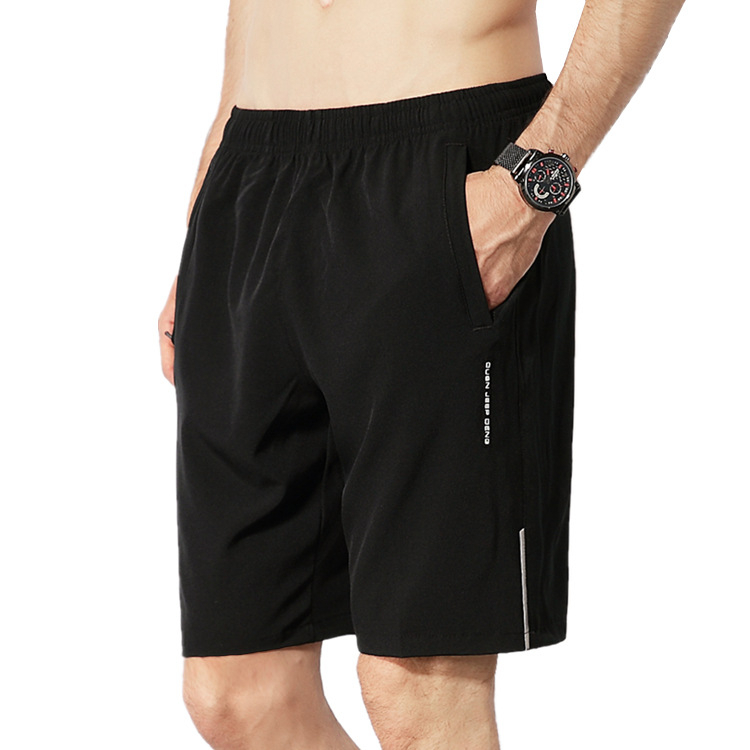 Summer Shorts Men Dress Polyester Compression Grey Beach Shorts Men Elastic Waist Men Boxer Shorts Fitness Clothing Plus 8xl-9xl