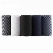Meias masculinas de compressão eur 38, de fibra de bambu, sociais, anti-transpirantes, longas, tamanho grande-46