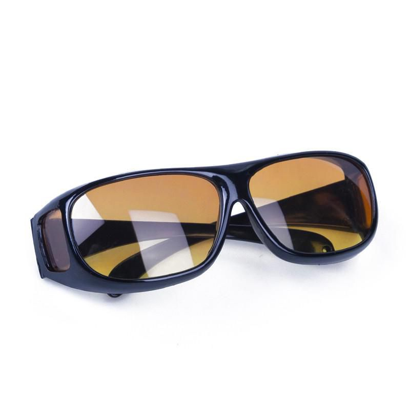 Three Types 2 Pair Set HD Night Vision Wraparound Sunglasses As Seen On TV Fits OVER Glasses