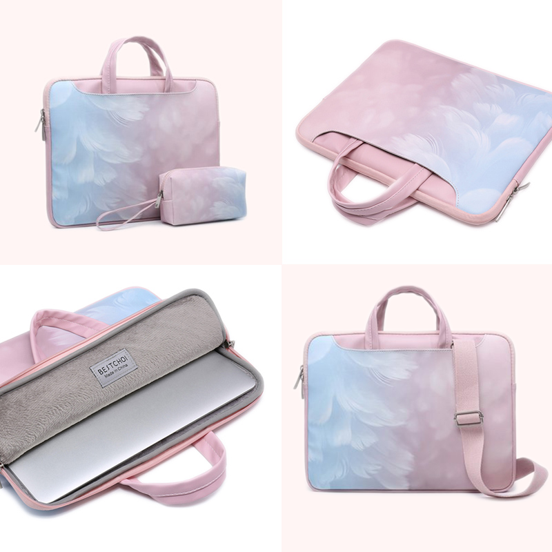 Laptop Bag for macbook air 13 case Waterproof Bag for macbook pro 15 case <font><b>funda</b></font> <font><b>portatil</b></font> <font><b>15.6</b></font> Laptop case 14 inch Women Handbag image