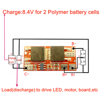 10A BMS 1S 4.2V 2S 8.4V PCB PCM BMS 18650 Li-ion Lipo 1S 2S BMS Lithium Battery Protection Circuit Board Module Charger Charging 3s 10a 12v lithium battery charger protection board module for 3pcs 18650 li ion battery cell charging bms 11 1v 12 6v