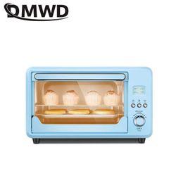 DMWD 25L Mini automatyczne elektryczne piekarnik wielofunkcyjny ciasto chleb tostery Pizza maszyna do pieczenia niebieski 1500W 220V