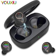 X2 Draadloze Bluetooth Oortelefoon 5.0 Eabuds IPX7 Waterdichte Bass Aac & Sbc Hoofdtelefoon QCC3020 Apt X 5.0 Tws Oordopjes