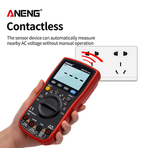 Image 3 - ANENG AN870  Digital Multimeter 19999 Counts True Rms Multimeter Transistor Tester Voltimetro Profesional Capacitance Meter